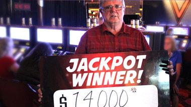 Jackpot Winner Thomas