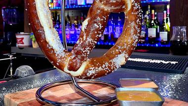 giant soft pretzel