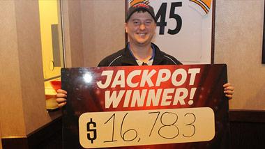 Jackpot Winner Christopher