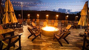 Parlay Lounge patio